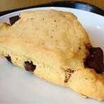 スターバックスコーヒー - 料理写真:チョコレートチャンクスコーン
