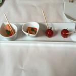 すぎやま - プチトマトと大根などの小鉢