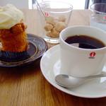 グラム - キャロットケーキ+ブレンドコーヒー