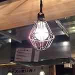 麺屋台 横綱家 - レトロな裸電球