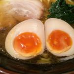 麺屋台 横綱家 - 味玉アップ〜❤️❤️❤️