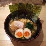 麺屋台 横綱家 - 味玉ラーメン(*^_^*)