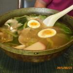 山泉楼 - 山泉麺