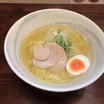 麺屋 廣島弐番 - 塩らーめん(*^◯^*)♪