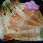 おはな丼丸 - 寿司海老丼540円
