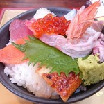 花のいわや亭 - 海鮮丼