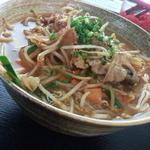 umichikashokudou - 豚肉と野菜のキムチ炒めすば