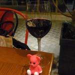 41139808 - 赤グラスワイン 600円