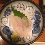 ごん - 活け〆鯛の造り290円!