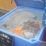 41140662 - 店頭の大きな蟹に魅かれました♪