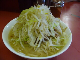 ラーメン二郎 ひばりヶ丘駅前店 - 小小、ニンニク
