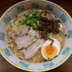 魚一番 - ラーメン540円(2015.8)