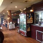 焼肉とステーキの店 ノースヒル 茨戸ガーデン - 焼肉コーナー、モクモクしてました