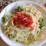 焼肉とステーキの店 ノースヒル 茨戸ガーデン - セットのサラダ