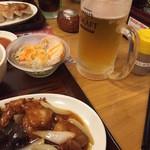 大阪王将 - 美味しいビール