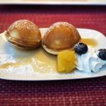 東京マリオットホテル - 温めて盛り付けもしてくれるフレンチトースト