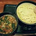 Mennoya - 【しょうゆつけ麺 (濃い味) 1.5玉 + 味付け玉子】¥880 + ¥100