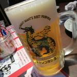 怪獣酒場 - ドドンゴ一番搾り 623円