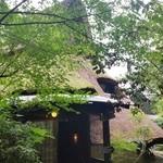まだま村 - この葺き屋根が見えてきたときには感動しました♪