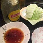 焼肉 南月 - このタレがめっちゃ美味しいんです〜