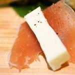 芒種 - 生ハムとチーズ