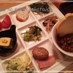 41149923 - 野菜のお惣菜がおいしい~♪