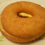 なか とうふ店 - 豆乳ドーナツ(カスタード) \120
