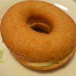 なか とうふ店 - 豆乳ドーナツ(ロイヤルミルク) \120