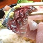 さとみ寿司 - やっぱり鯵は美味しかった!