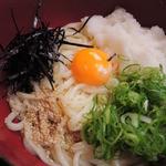 祇園 京めん - こちらの麺は細麺だけどコシがあって、もっちりしてて       美味しいよ~♪冷たいおうどんだとそれがよく分かります。