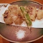 すきや寿司 - たこ天麩羅