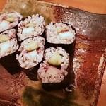 すきや寿司 - しらす山芋巻(ご飯部分はしらす)