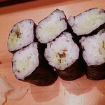 すきや寿司 - わさび巻