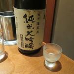 月島 在市 - 日本酒3