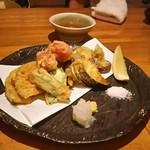 41154378 - 有機野菜の天ぷら