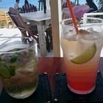 カジュアルカフェ&レストラン サンフラワー - ミントライムソーダ&トロピカルソーダ