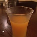 モンスーンカフェ - マンゴージュース