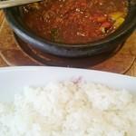 ホットスプーン - 夏野菜牛スジカレー