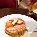 MELANGE De SHUHARI - メープルとバターのパンケーキ(*´꒳`*)