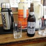 森川酒店 - ビールはスーパードライ