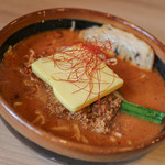 41158651 - 北海道味噌 辛味噌らーめん+バター+炙りチャーシュー☆