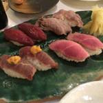 渋谷肉横丁 肉寿司 -
