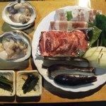 オーロラファームヴィレッジ - 夕食②