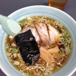 中華そば マル真 - 醤油細麺\650