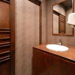 藤堂 - シックで常に清潔なトイレです。