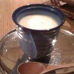 BISTRO LAROCHE - ホワイトアスパラの茶碗蒸し
