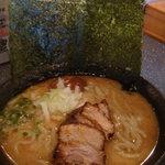 ラーメン厨房 麺バカ息子 徹 - 特製(チャーシュー3枚・煮卵入り)