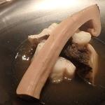 レストラン ラ フィネス - 鱧と松茸