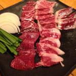 馬肉グリル&ワイン ゆう馬 - 馬焼肉の極上5種盛り(2人前)