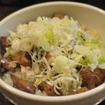 漢 - 純レバ丼 ¥750